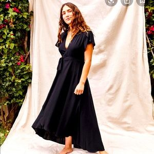 Christy Dawn silk wrap dress NWT never been worn!